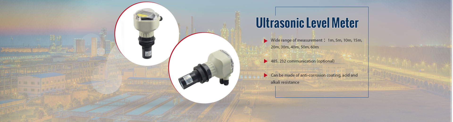 Ultrasonic Level Meter