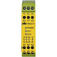 PILZ 774300  PNOZ X1 24VAC/DC 3n/o 1n/c