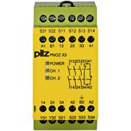 PILZ 774314 PNOZ X3 110VAC 24VDC 3n/o 1n/c 1so