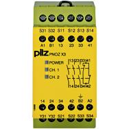 PILZ 774318 PNOZ X3 230VAC 24VDC 3n/o 1n/c 1so