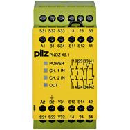 PILZ 774322 PNOZ X3.1 240VAC 24VDC 3n/o 1n/c 1so