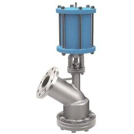 Pneumatic discharge valve