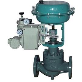 The pneumatic membrane single-seat regulating valve