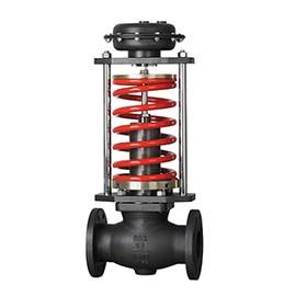 Self-operated pressure regulating valve